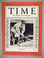 Time Magazine - July 9, 1928 -- Rogers Hornsby