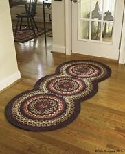 "Folk Art Braided Entryway Circle Rug Runner by Park Designs - 30"" x 72"""