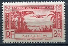TIMBRE NIGER  NEUF *  N° 2 PA   POSTE AERIENNE AVION