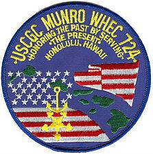 Uscgc Munro Hawaii - Coast Guard patch