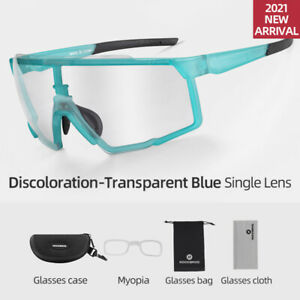 ROCKBROS Cycling Photochromic Glasses Outer-piece Full-frame Sunglasses for Men