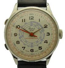 BÁSICO deportivo reloj ANTIMAGNETIQUE DE LUX - mens - segundos parada - década de 1940