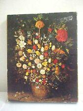 1970 Springbok Jigsaw Puzzle Flowers in a Tub by Brueghel 486 PC