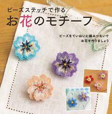 Beads Stitch Flower Motif Japanese Beads Craft Book Japan