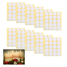 Candle Making Wick Stickers 200 Dots Glue Paste Balloon Double Sided Sticky set