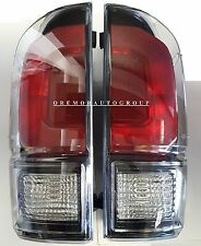2016 - 2017 Toyota Tacoma TRD PRO Rear Tail Lamp Set - GENUINE OEM NEW!