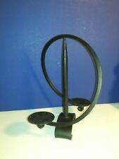 Collectible Cast Iron Balance Style Candle Holder Home Table Decor