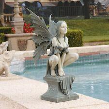 Garden Fairies Fairy Statue Faerie Wings Sculpture Figurine Yard Art Ornament