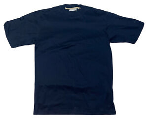 Sulka Mens Casual Cotton Italy Blue Shirt Size  - XL