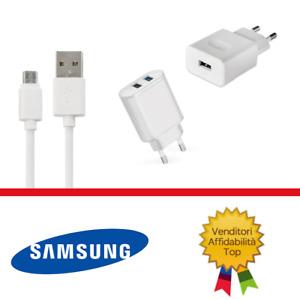 Per Samsung GALAXY A5 J7 J3 J5 Caricabatterie con cavo cavetto Micro USB rapido
