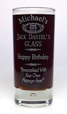 Personalised JACK DANIELS BIRTHDAY Highball Glass Gift 40th/50th/60th/Dad/Mum