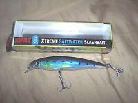 Rapala X-Rap Xtreme Saltwater Slashbait Lure Blue Sardine Fishing Lure Rattles