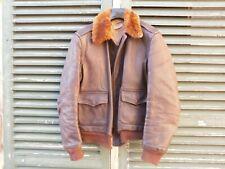 "Vintage 1940's ""Sportclad"" Pony (Horsehide) Leather Jacket"