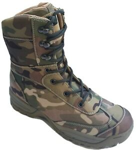TACTICAL ASSAULT SYSTEMS MULTICAM COMMANDO BOOTS SIZES UK 4 TO UK 14