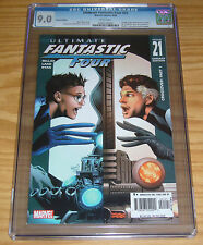 Ultimate Fantastic Four #21 CGC 9.0 variant - 1st appearance marvel zombies