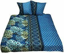 3 tlg Bettwäsche 200x200 Bettgarnitur Bettwaren Bettdecken Übergrösse Microfaser