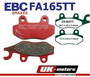 EBC brake pads FA165TT front right Yamaha YFM 700 RV/RW/RX/RY - Raptor 06-09
