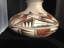 Joy Navasie/Yellow Flower/second Frog Woman, Hopi Pottery Jar. Mint condition.