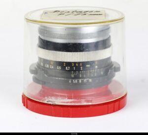 Lens Carl Zeiss Distagon 4/25mm Screw mount M42