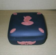 Wedgwood Jasperware Black Terracotta Egyptian Square Box