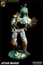 SIDESHOW STAR WARS BOBA FETT 1/6 SCALE FIGURE EXCLUSIVE ESB SCUM & VILLANY NEW
