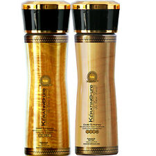 KERATIN CURE GOLD SHAMPOO & CONDITIONER -MAINTAIN COLOR AND TREATMENT 160ml