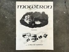 Original 1975 Mowtron Automated Mower Sales Brochure Lawnmower Robot