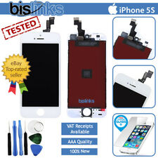 Per iPhone 5 S Bianco Completo LCD Display Touch Screen digitalizzatore Assembly sostituzione
