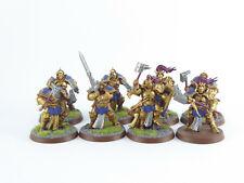 8 x Liberators der Stormcast Eternals / Warhammer Fantasy - teilw. gut bemalt -