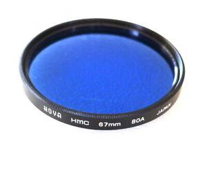 67mm Hoya HMC 80A Filter - Blue Color Correction - Near PERFECT