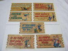 Topps Wacky Plak Vtg. Trading Cards Lot  T*