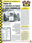 Voisin C6 France Course & Formule 1 1923 Car Auto FICHE FRANCE