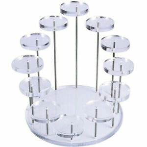 Cupcake Stand Acrylic Display Rack Jewelry Cake Dessert Holder Wedding Parties