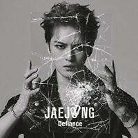 Kim JaeJoong Japan 2nd Single [Defiance] Type B (CD+DVD) Limited Edition NEW