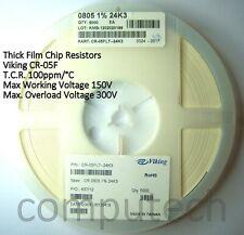 20 Resistenze SMD size 0805 da 150 ohm 1/% 150ohm 2,0x1,25 mm