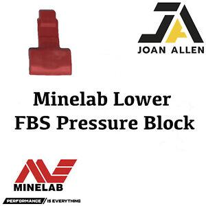 Genuine Minelab FBS Lower Pressure Block