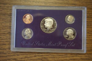 1990-S Proof Set United States US Mint Original Government Packaging Box & COA