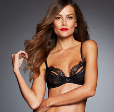 444577c719 L agent by Agent Provocateur Women s Black Idalia Unlined Demi ...