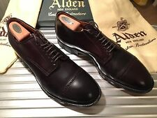 ALDEN Schuhe Shoes Cordovan Pferdeleder Cap-Toe Derby Modified 12.5 B Anatomica