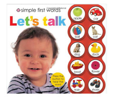 `Learning Toys for 1 2 3 Year Old Best Girls Boys First Words Educational Book