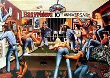 Easyriders 10th Anniversary David Mann   Art  Poster