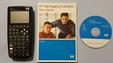 HP 50g Calculator in excellent condition with User's Manual and CD