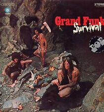 "GRAND FUNK ""SURVIVAL"" ORIG FRANCE 1971 EX/EX"