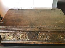17th Century Bible Box - Wood