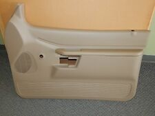 New OEM 1997-2001 Ford Explorer Front Right Interior Door Panel Beige