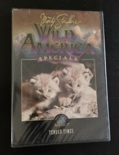 "Marty Stouffer's Wild America Specials DVD: ""Tender Times"" Brand New"