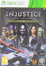 INJUSTICE GODS AMONG US ULTIMATE EDITION TEXTOS EN ESPAÑOL NUEVO XBOX 360