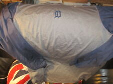 DETROIT TIGERS Olde English D LongSlv Poly/Spandex Workout Shirt XL Nike Fit Dry