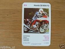 EASY RIDER 8B HONDA CB900F2 KWARTET KAART, QUARTETT CARD,SPIELKARTE