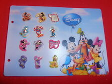 12 Disney Pins 2010 Paris Carrefour Fab Five Set+Daisy As seen. New in Pkg. lotG